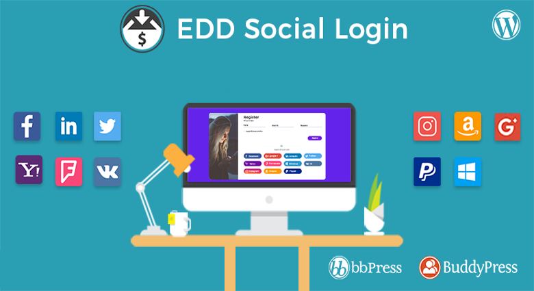Easy Digital Download Social