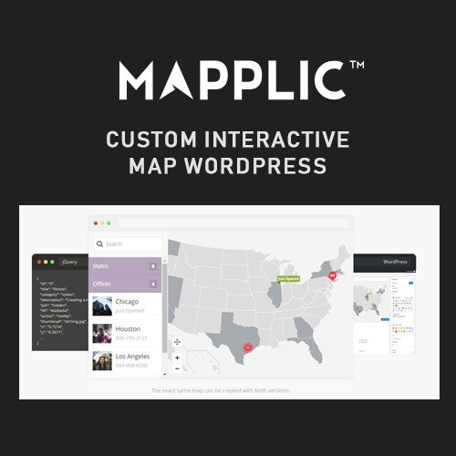 Mapplic - Custom Interactive Map